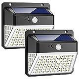 Luz Solar Exterior, 82 LED Trswyop...